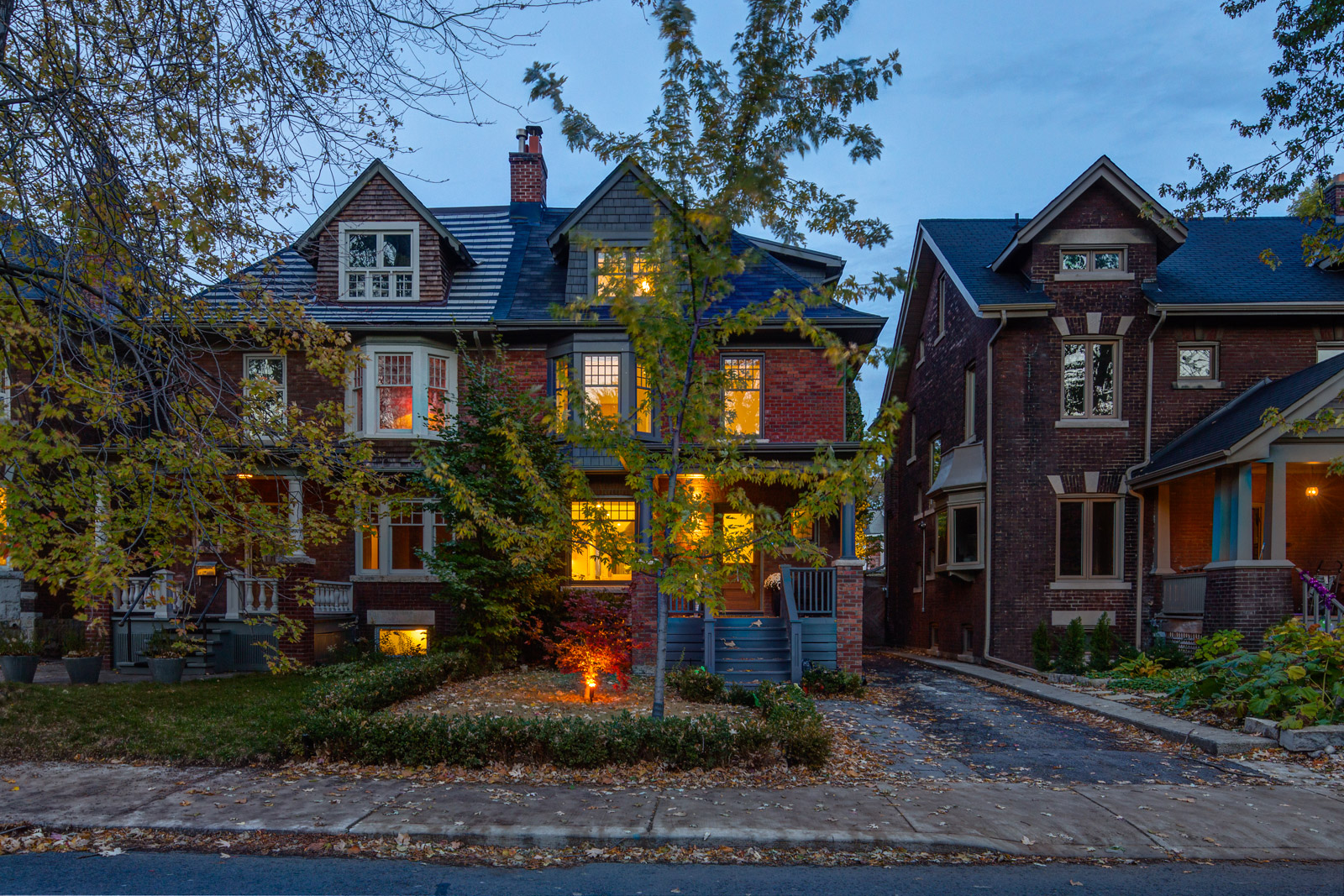 Toronto residential renovation into a contemporary home with retained historic character